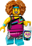 2017 LEGO #71018 Minifigures Series 17 #14 Dance Instructor minifig