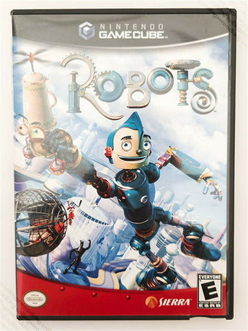 2005 Nintendo Gamecube Robots game - good