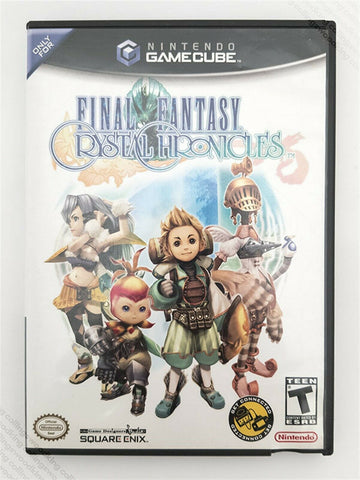 2004 Nintendo Gamecube Final Fantasy: Crystal Chronicles game w/ Player's Guide