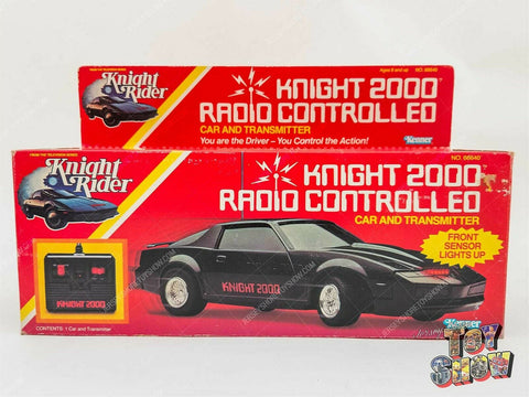 Vintage 1982 Kenner Knight Rider Knight 2000 Radio Controlled Car MIB