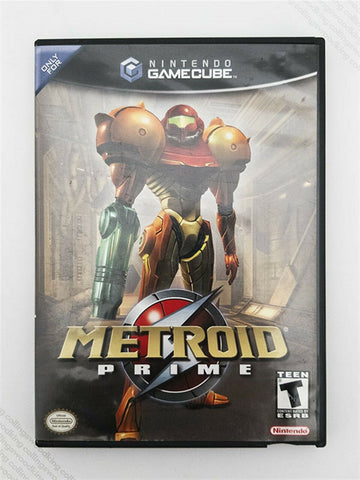 2002 Nintendo Gamecube Metroid Prime game - complete excellent