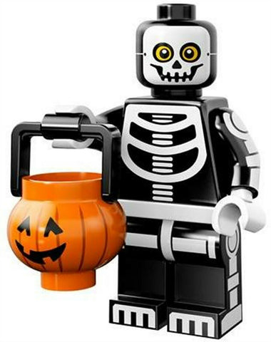 2015 LEGO #71010 Minifigures Series 14 Monsters #11 Skeleton Guy minifig