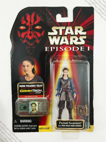 "1999 Hasbro Star Wars Episode 1 Padme Naberrie 3 & ¾"" action figure MOC"