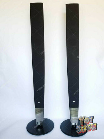 Pair of LG Model No. SH93PA-F Home Theater Tower Speaker w/ base - 4 Ohm WORKING