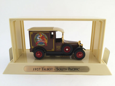 Matchbox Models of Yesteryear YGB10 1927 Talbot South Pacific diecast truck MIB