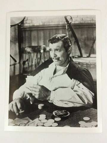 Vintage Clark Gable as Rhett Butler in Gone With the Wind glossy 8 x 10 photo