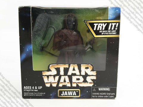 "1998 Kenner Star Wars Action Collection 12"" / 1:6 scale Jawa action figure POTF2"