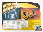 "1994 Kenner Action Masters Aliens 4 pack 2"" diecast figures MOC NEW Ripley Queen"