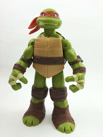 Teenage Mutant Ninja Turtles TMNT Battle Shell Michelangelo 11 in. action figure