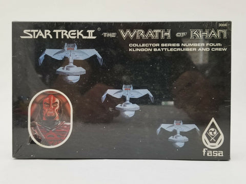 FASA Star Trek Role Playing Game Wrath of Khan #3004 Klingon Battlecruiser MISB