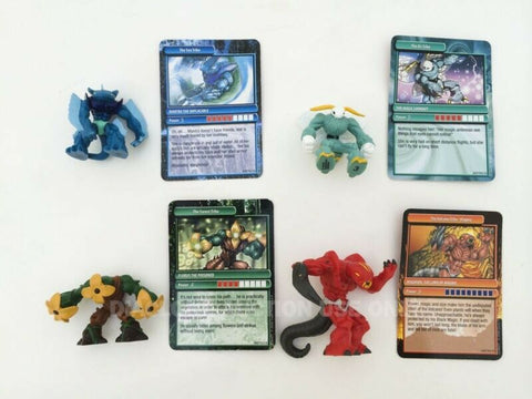 2008 Gormiti figures & cards - Magimon Mantra Magic Lookout Florus