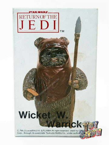 Vintage 1984 Tsukuda Star Wars ROTJ Wicket the Ewok 1/12 resin model kit