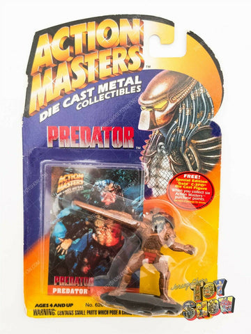 "1994 Kenner Action Masters Predator 2"" diecast figure mint on card MOC NEW"