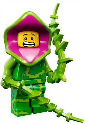 2015 LEGO #71010 Minifigures Series 14 Monsters #5 Plant Monster minifig