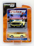 Greenlight Cruise In Mustang Edition 1970 Ford Mustang Convertible diecast car