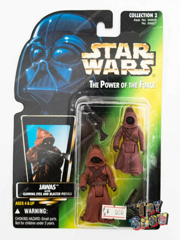 Kenner / Hasbro Japan Star Wars POTF2 Jawas action figure MOC - Japanese card