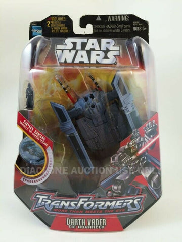 2006 Hasbro Star Wars Transformers Darth Vader Tie Advanced MOC