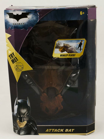 2008 Mattel DC Batman The Dark Knight Attack Bat toy MISB mint in sealed box