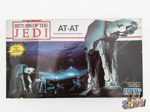 Vintage 1989 MPC Star Wars Return of the Jedi AT-AT model kit mint in box UNUSED