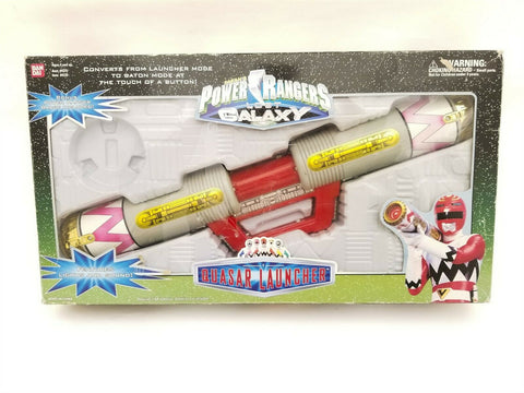1999 Bandai Power Rangers Lost Galaxy Quasar Launcher toy - roleplay weapon