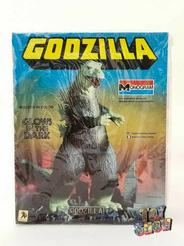 Vintage 1978 Monogram Godzilla model kit w/ Glow in the Dark parts MIB UNUSED