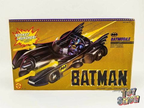 Vintage 1989 ToyBiz Batman Batmobile vehicle w/ rocket launcher mint in box MIB