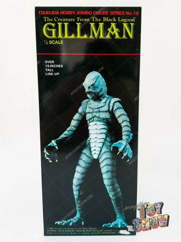Vintage Tsukuda Japan Creature from the Black Lagoon Gillman 1/5 model kit MIB