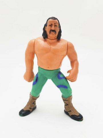 1990 Hasbro WWF Wrestling Series 1 Jake The Snake Roberts action figure - WWE