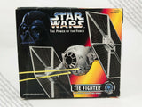 1995 Kenner Star Wars Power of the Force POTF2 Tie Fighter vehicle MIB