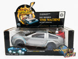 Vintage Back to the Future Doc Brown's Time Machine battery operated De Lorean