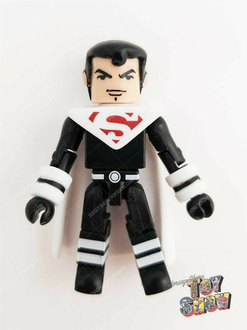 2004 DC Minimates / C3 Construction Alternate Superman figure from Mini Flyer