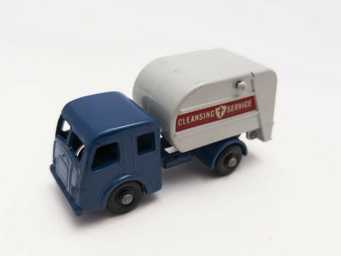 Vintage 1963 Lesney Matchbox England 15c Tippax Refuse Collector 1:64 diecast