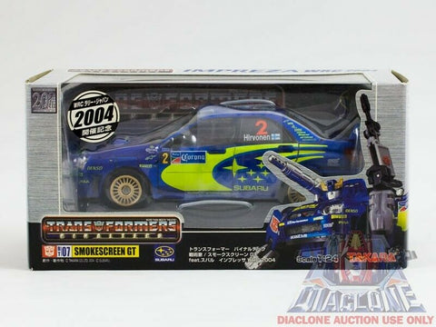 2004 Takara Transformers Binaltech BT-07 Smokescreen GT #2 MISB