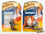 "1994 Kenner Action Masters Terminator 2 T-800 & T-1000 2"" diecast figure MOC NEW"