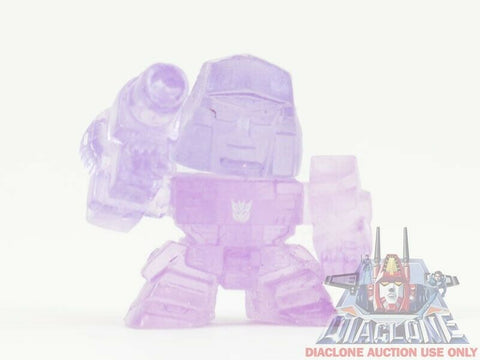 Japanese Transformers Q Robo Super Deformed SD G1 Megatron clear figure