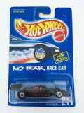Vintage 1991 Mattel Hot Wheels #244 No Fear Race Car New Model mint on card MOC