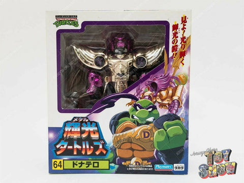 Japanese Takara Teenage Mutant Ninja Turtles Metal Mutants #64 Donatello MIB