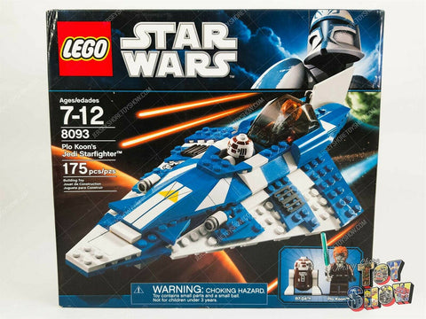 2010 LEGO Star Wars Clone Wars #8093 Plo Koon's Starfighter MISB mint sealed NEW
