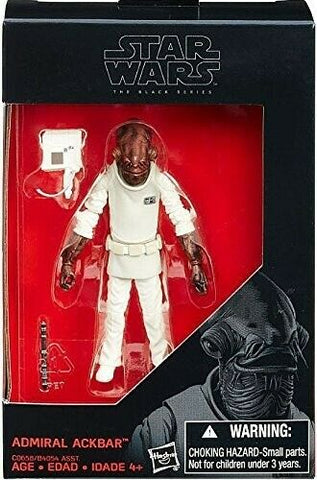 "2016 Hasbro Star Wars Black Series Admiral Ackbar 3 & 3/4"" action figure NEW"