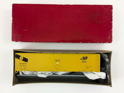 Branchline HO scale train #10902-2 GARX-MKT The Katy 50' Boxcar MIB NEW Unused