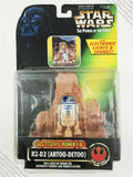 1996 Kenner Star Wars POTF2 Electrronic Power F/X R2-D2 action figure MOC