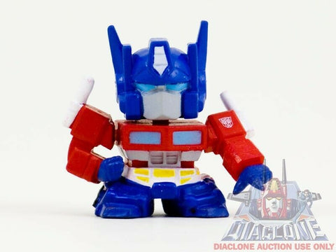 Japanese Transformers Q Robo Super Deformed SD G1 Optimus Prime figure