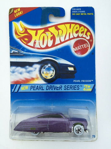 Vintage 1994 Mattel Hot Wheels #292 Pearl Driver Series #2 Pearl Passion MOC