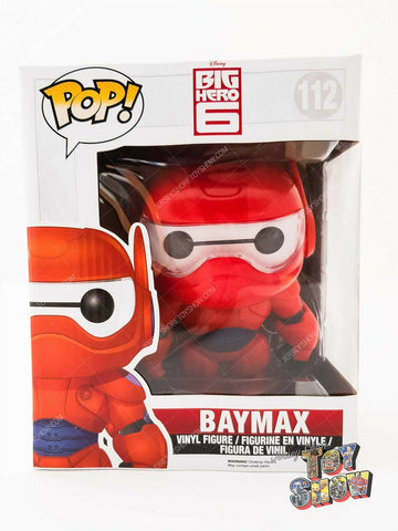 "Funko POP! Disney Big Hero 6 #112 Baymax giant / jumbo size 6"" vinyl figure MIB"