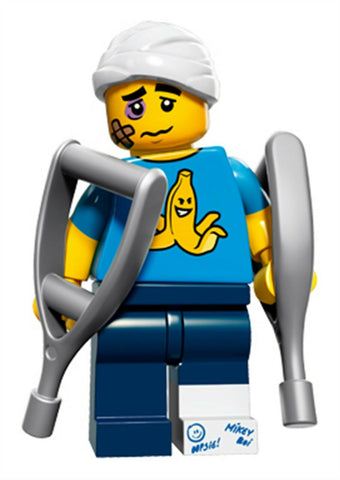 2016 LEGO #71011 Minifigures Series 15 #4 Clumsy Guy minifig