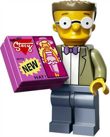 2015 LEGO #71009 The Simpsons Minifigures series 2 #15 Smithers minifig