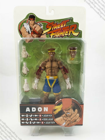 "2005 SOTA Street Fighter Round 3 Adon 6"" action figure MIP / MOC - Capcom"