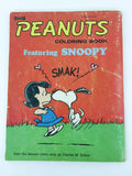 Vintage 1968 / 1970 Artcraft Peanuts Coloring Book featuring Snoopy - USED