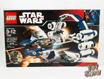 LEGO Star Wars ROTS #7661 Jedi Starfighter with Hyperdrive Booster Ring MISB NEW