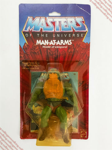 Vintage Japanese Takara Masters of the Universe Man-At-Arms MOC He-Man MOTU